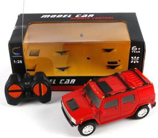 Машинка на радиоуправлении Shantou Gepai красный от 6 лет пластик 1:28, 4 канала 5137A машинка на радиоуправлении shantou gepai super car 4 канала оранжевый от 6 лет пластик 567 a5