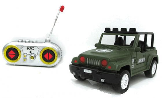 Машинка на радиоуправлении Shantou Gepai Army зелёный от 7 лет пластик 1:28, 4 канала shantou машина на радиоуправлении 1 28 4 канала 6138k gepai