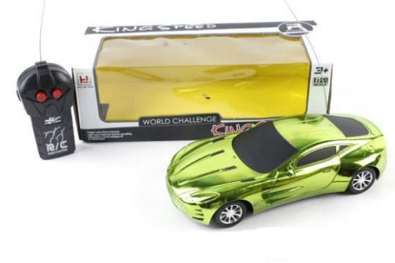 Фото - Машинка на радиоуправлении Shantou Gepai Kingspeed салатовый от 3 лет пластик машинка на радиоуправлении shantou gepai ts16 1 разноцветный от 3 лет пластик в ассортименте