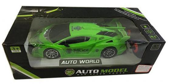 Машинка на радиоуправлении Shantou Gepai Auto World зелёный от 3 лет пластик 4 канала, свет, 1:12 635432 машинка на радиоуправлении shantou gepai auto world от 3 лет зелёный пластик 4 канала свет 1 12