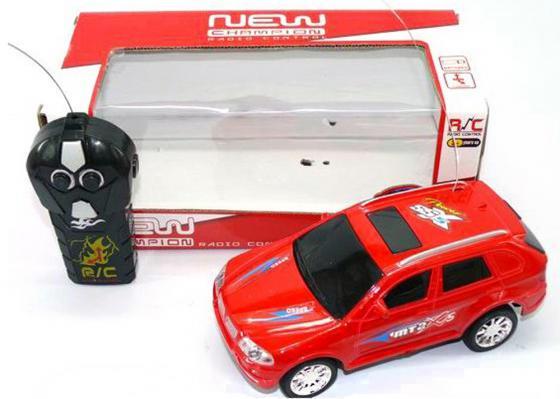 Машинка на радиоуправлении Shantou Gepai Новый Чемпион красный от 3 лет пластик 2 канала 6903-1 машинка на радиоуправлении shantou gepai crazy спорткар белый от 3 лет пластик 1 20 2 канала 3d свет 635556
