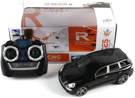 Машинка на радиоуправлении Shantou Gepai Races черный от 3 лет пластик paddington races ahead