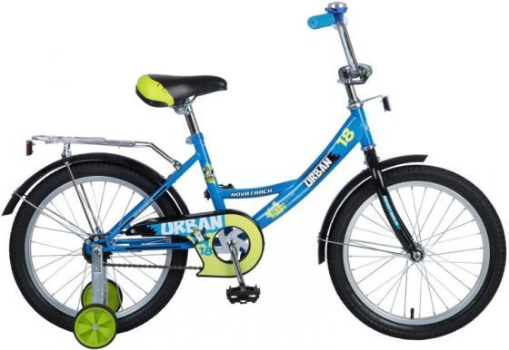 """Велосипед двухколёсный Novatrack Urban 18"""" синий"""