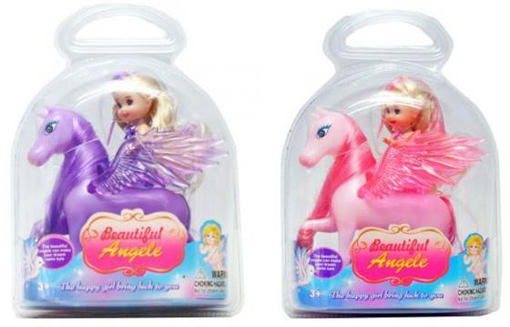 Кукла Shantou Gepai Beautiful Angel на крылатом коне 9 см в ассортименте, блистер 3100 сергей юрьев мечта о крылатом коне сборник