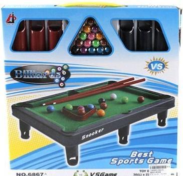 Настольная игра спортивная Shantou Gepai Бильярд 6867A спортивный инвентарь shantou gepai игра с липучкой