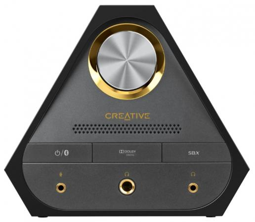 Звуковая карта USB Creative Sound BlasterX X7 70SB158000000 звуковая карта usb creative sound blasterx g1 70sb171000000 retail