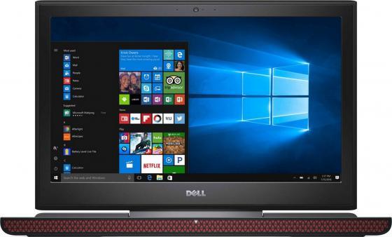 Ноутбук DELL Inspiron 7567 15.6 1920x1080 Intel Core i7-7700HQ 1 Tb 8 Gb 8Gb nVidia GeForce GTX 1050Ti 4096 Мб черный — 7567-9316 dell inspiron 3558