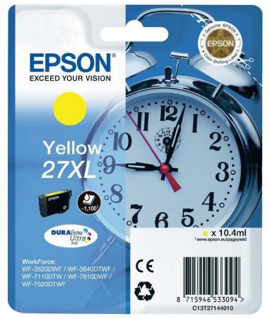 Картридж Epson C13T27014020 для Epson WF7110/7610/7620 черный 350стр original cc03main mainboard main board for epson l455 l550 l551 l555 l558 wf 2520 wf 2530 printer formatter