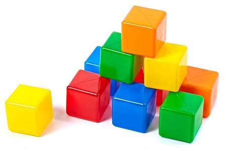 Кубики Строим вместе № 2 10 шт  5253 от Just.ru