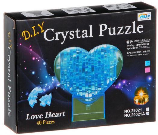 Пазл 3D 40 элементов Shantou Gepai Сердце 29021A пазл 3d shantou gepai заяц 56 элементов 9027