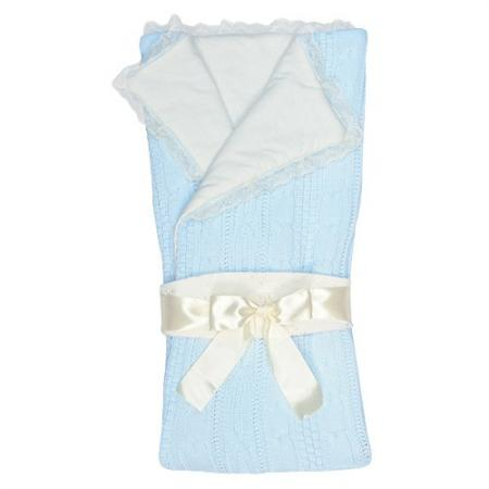 Конверт-одеяло Сонный Гномик Нежность (голубой) сонный гномик одеяло лебяжий пух сонный гномик