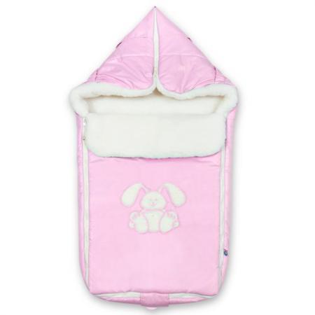 Конверт Сонный Гномик Зайчик (розовый) одеяло детское сонный гномик сонный гномик mp002xc00p1r