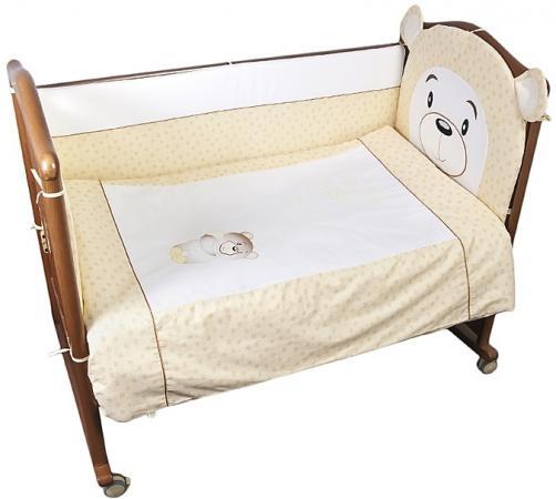 Комплект в кроватку 3 предмета Сонный Гномик Умка (бежевый) сонный гномик плед флисовый бараш сонный гномик бежевый