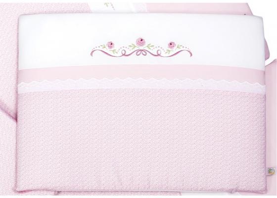 Комплект в кроватку 3 предмета Сонный Гномик Прованс (розовый) цена