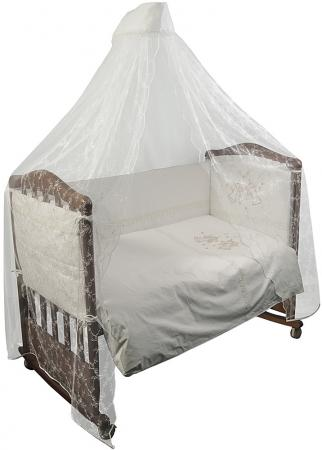 Комплект в кроватку 3 предмета Сонный Гномик Эльфы (молочный) комплект в кроватку сонный гномик комплект африка 3 предмета бежевый
