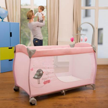 Манеж Hauck Baby Center (birdie grey) стоимость