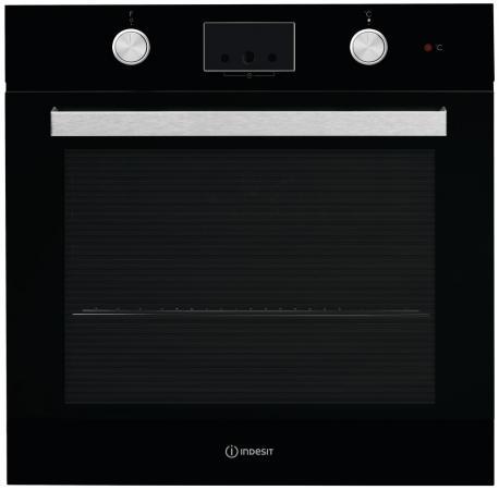 Электрический шкаф Indesit IFW 65Y0 J BL черный электрический духовой шкаф indesit ifw 6530 wh white