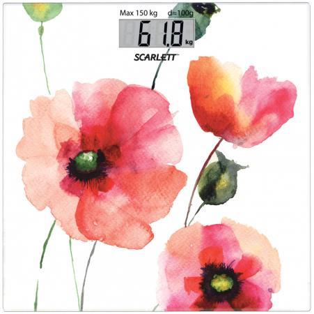 Весы напольные Scarlett SC-BS33E084 рисунок весы напольные scarlett sc bs33e088