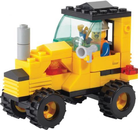 Конструктор SLUBAN Трактор малый M38-B0120 70 элементов все цены