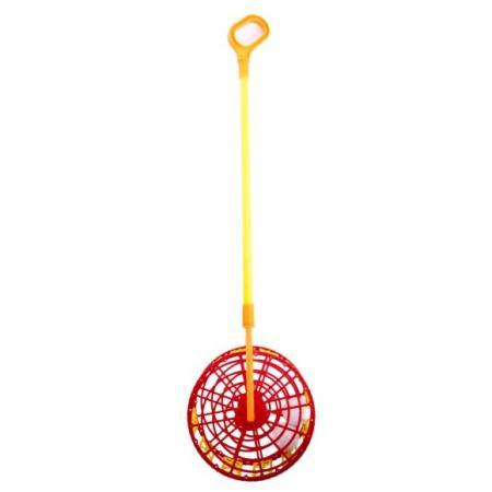 Каталка на палочке Совтехстром Каталка-погремушка №2 пластик от 1 года разноцветный У778 16322