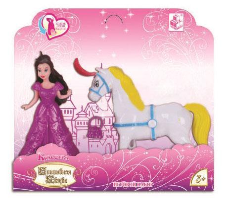 Кукла 1toy Красотка Волшебная Сказка Т59031 11 см цена