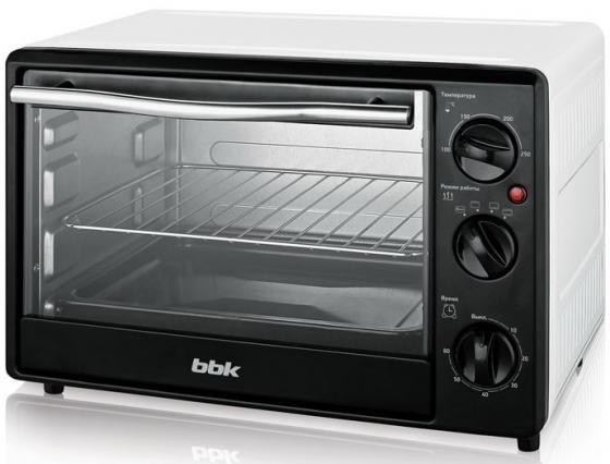 Мини-печь BBK OE1831M белый чёрный микроволновая печь bbk 23mws 927m w 900 вт белый