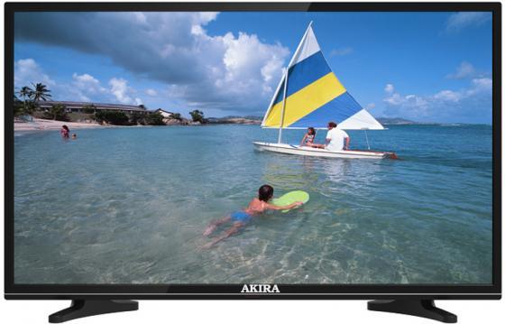 Телевизор 39 Akira 39LED01T2M черный 1366x768 50 Гц USB SCART VGA