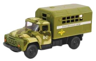 Интерактивная игрушка Play Smart грузовик(военный) от 3 лет хаки Р49220 автомат play smart снайпер р41399
