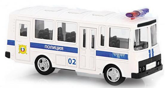 Интерактивная игрушка Play Smart автобус(полиция) от 3 лет белый Р49231 интерактивная игрушка для девочки just play собачка кэнди и ее щенки от 3 лет 42108