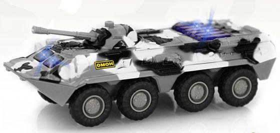 Интерактивная игрушка Play Smart Автопарк - БТР-80 от 3 лет хаки интерактивная игрушка play smart газ тигр военный р41119 от 3 лет хаки