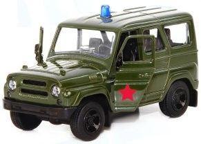 Интерактивная игрушка Play Smart UAZ Hunter - Военная от 3 лет хаки 6401A