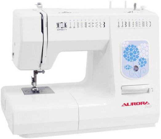 Швейная машина Aurora 760 белый кофемашина delonghi ecam 45 760 w белый