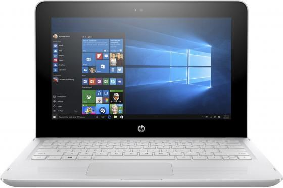Ноутбук HP x360 - 11-ab015ur 11.6 1366x768 Intel Pentium-N3710 500 Gb 4Gb Intel HD Graphics 405 белый Windows 10 Home 1JL52EA ноутбук lenovo ideapad 300 15ibr 80m300nrrk intel pentium n3710 1600 mhz 15 6 1366x768 4096mb 500gb hdd dvd нет intel® hd graphics 405 wifi windows 10
