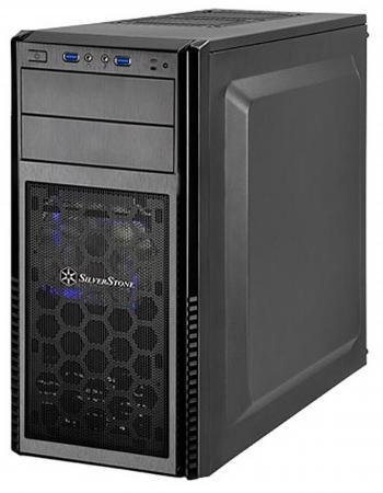 все цены на  Корпус ATX SilverStone Precision SST-PS11B-W Без БП чёрный  онлайн