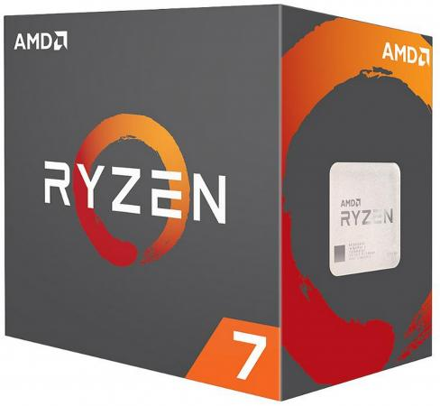Процессор AMD Ryzen 7 1700 YD1700BBAEBOX Socket AM4 BOX процессор amd ryzen 7 1700x yd170xbcaewof socket am4 box без кулера