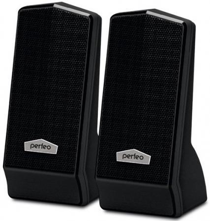 Колонки Perfeo Cursor PF-601 2x3 Вт USB черный