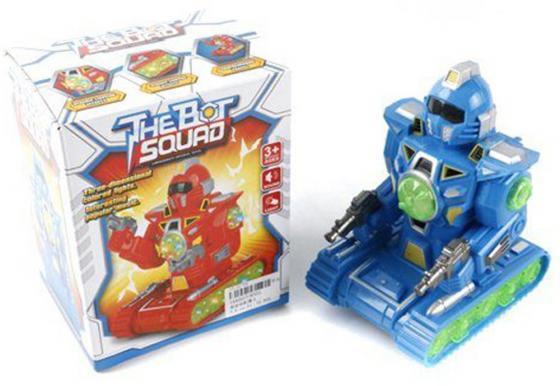 Робот электронный Shantou Gepai The Bot Squad светящийся со звуком ассортимент 8333 робот электронный tongde е нотка со звуком светящийся ассортимент t240 d5572