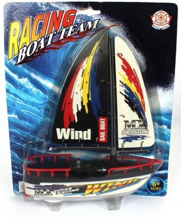Катер Shantou Gepai Racing Boat Team 21 см 589 create toys no 3312 2 4g volvo rowing racing boat