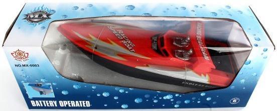 Катер Shantou Gepai Endless Power 40 см красный MX-0003-33 пульты программируемые urc mx 850