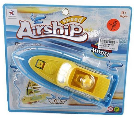 Катер Shantou Gepai Speed Airship King разноцветный свет, звук 586-35A цветы семирамиды набор для творчества цветы семирамиды люпины