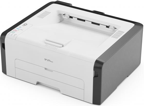 Принтер Ricoh SP 277NwX черно-белый A4 23ppm 1200x600dpi RJ-45 Wi-Fi USB 408157 ricoh sp 210sf a4 1200x600dpi 22ppm usb rj 45 407683