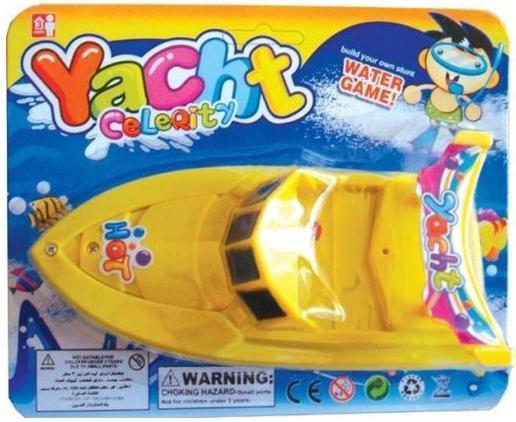 Катер Shantou Gepai Hot Yacht 15 см желтый 311-67 игрушка shantou gepai наша игрушка катер 311 83