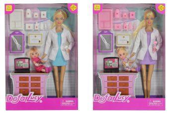 Кукла Defa Luсy Детский доктор с аксесс., в ассорт. 61680 кукла defa lucy 8166