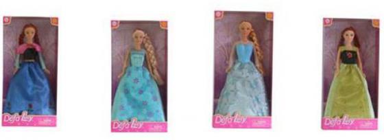 Кукла Defa Luсy 29 см Принцессы в ассорт., кор. 8326 кукла defa lucy 270 228984