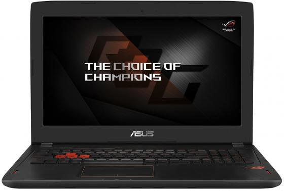 Ноутбук ASUS ROG GL502VM-FY043T 15.6 1920x1080 Intel Core i5-6440HQ 1 Tb 8Gb nVidia GeForce GTX 1060 6144 Мб черный Windows 10 видеокарта asus geforce gtx 1060 1620mhz pci e 3 0 6144mb 8208mhz 192 bit dvi hdmi hdcp rog strix gtx1060 o6g gaming
