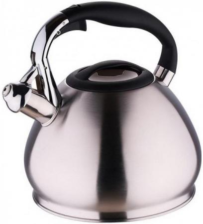 все цены на Чайник Wellberg WB-6060 серебристый 3.4 л нержавеющая сталь онлайн
