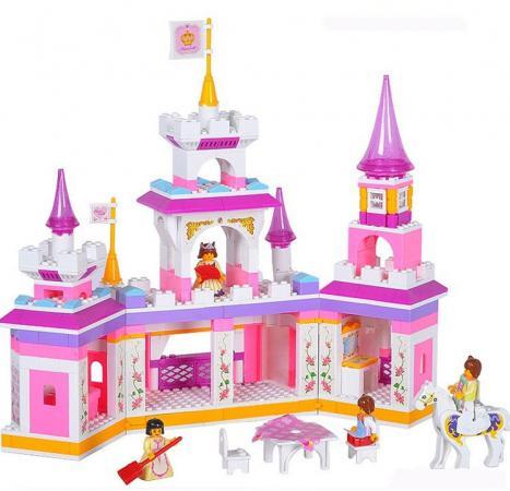 Конструктор SLUBAN Волшебный замок принцессы M38-B0251 385 элементов конструктор для девочки замок принцессы 178 элементов