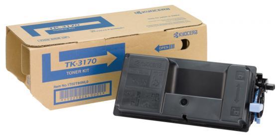 Картридж Kyocera TK-3170 для Kyocera P3050dn/P3055dn/P3060dn черный 15000стр сетевой кабель gembird cablexpert utp cat 6 0 25m yellow pp6u 0 25m y