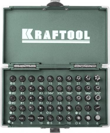 Набор бит Kraftool EXPERT X-Drive 50шт 26065-H50 набор бит kraftool expert 26131 h18