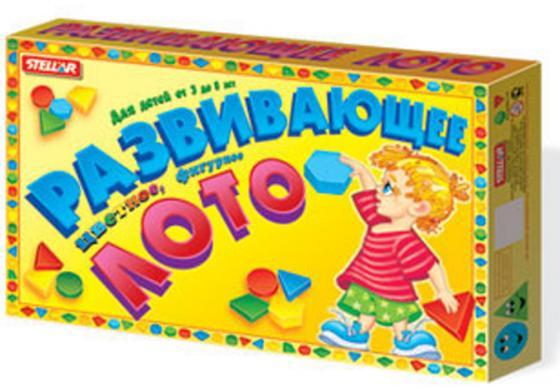 Настольная игра развивающая СТЕЛЛАР Лото развивающее 00903 настольная игра домино стеллар фрукты 12